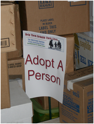 Volunteerism Adopt-A-Person